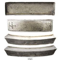Vietnam, Minh Mang 10-lang sycee silver bar, mid-1800s.