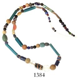 String of glass beads, Spanish colonial (1500s).