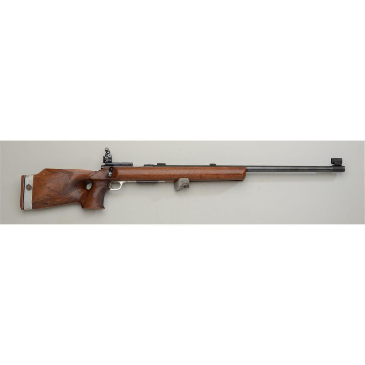 """High grade Anschutz Model 54 Super Match target rifle,  22LR cal , 27-1/2""""  heavy round barrel, bl"""
