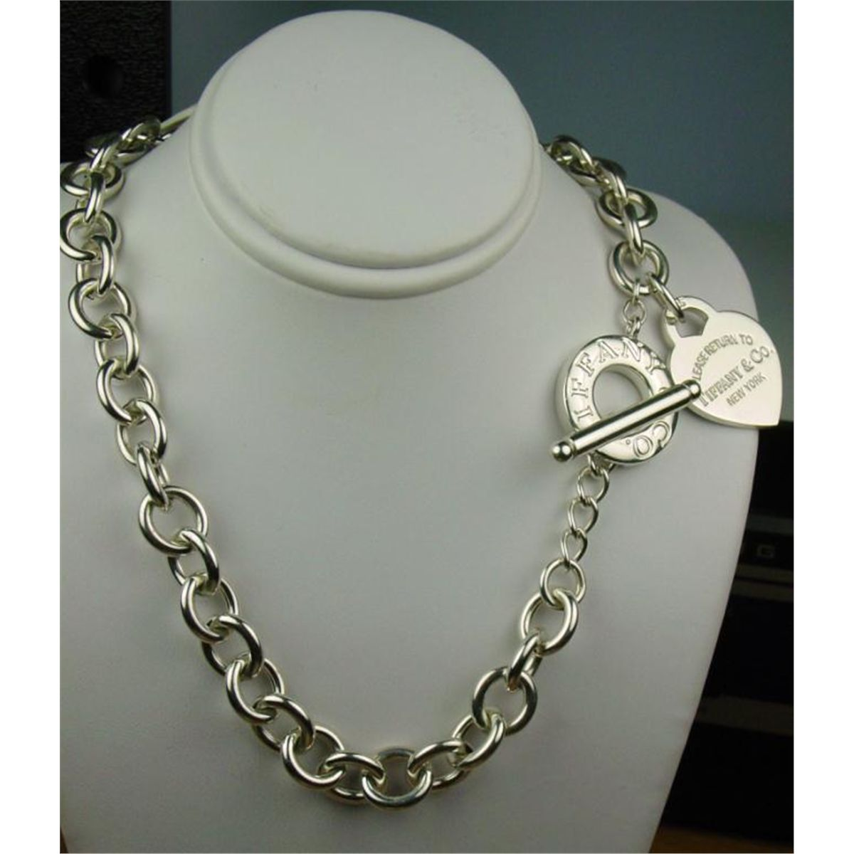 266a88bc4 Loading zoom · Image 1 : Very heavy ladies 'TIFFANY' double wrap design  silver bracelet weighing over ...
