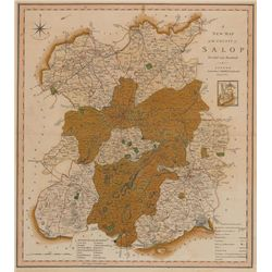 1614: John Speed map of Shropshire