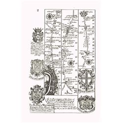 1731: Britannia Depicta, road atlas of England and Wales