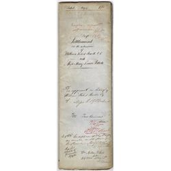 1758-1891: Powell family deeds and legal documents collection