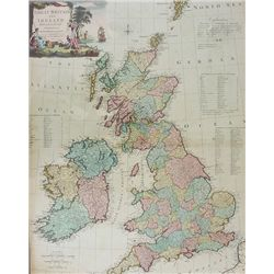 1794: Kitchin's map of Great Britain and Ireland