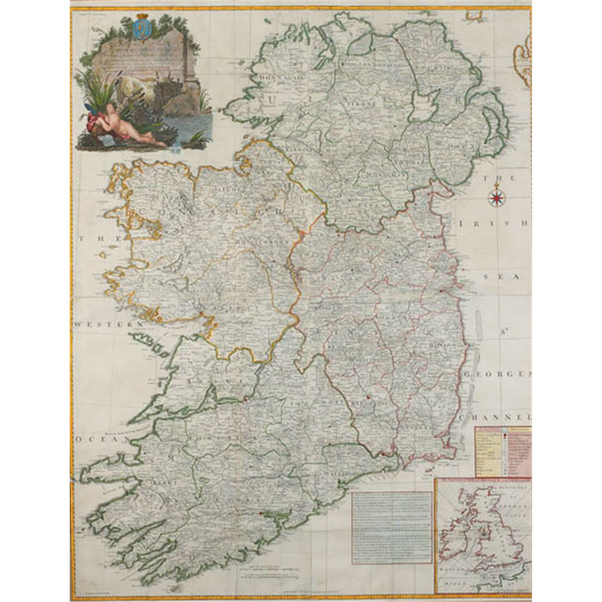 1794: John Rocque map of the Kingdom of Ireland on republic of china map, democratic republic of the congo map, southern ireland map, kingdom of ireland flag, union of soviet socialist republics map, isle of man map, duchy of milan map, republic of ireland map, provinces of ireland map, grand duchy of tuscany map, confederate states of america map,