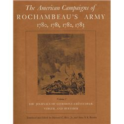 1780-1783: The American Campaigns of Rochambeau's Army