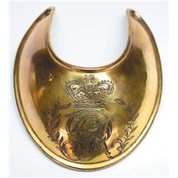 1796-1830: Georgian Officer's Universal Pattern gorget