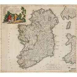 1803: Venetian edition of Robert de Vaugondy Ireland map