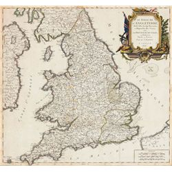 1803: Venetian edition of Robert de Vaugondy British Isles map