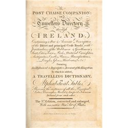 1803: The Post Chaise Companion: Or, Travellers' Directory Through Ireland by William Wilson