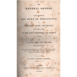 1809-18: The general orders of the Duke of Wellington in campaign