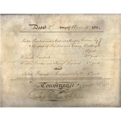 1816-1880: Rathfarnham and district collection of indentures and legal documents