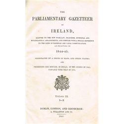 1844-45: The Parliamentary Gazetteer of Ireland