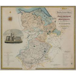 1834: Greenwood maps of the Principality of Wales