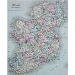 1840s: Dower's map of Ireland