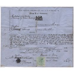 1860-1880: Lucan Petty Court summons and legal documents collection