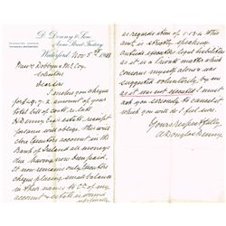 1910-15: Estate papers relating to the Denny Family, Bacon Curers of Waterford City