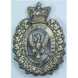 1874-1881: South Mayo Rifles Militia other ranks glengarry badge