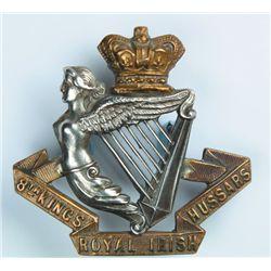 Victorian Irish Regiments cap badge collection