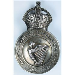 1903-08: North of Ireland Imperial Yeomanry slouch hat badge