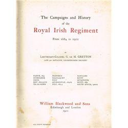 1684-1902: History of the Royal Irish Regiment, Volume 1