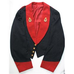 circa 1900: Royal Army Medical Corps officers' mess dress uniform