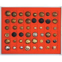 1900-50: British and Irish military and police button collection