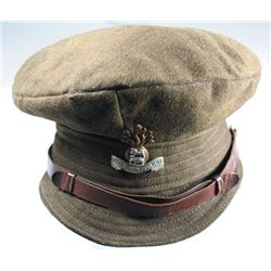 1914-18: Royal Dublin Fusiliers soft trench cap