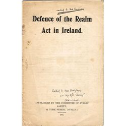 1915-45: Irish political documents collection including German Catholic Leader Raises the Irish Ques