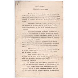 1914 (16 September) Dublin Irish Volunteers instructions and orders