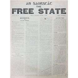 1922: An Saorstát Irish Free State newspaper collection