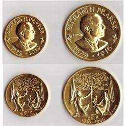 1916 Rising: Fiftieth Anniversary 1966 gold medals