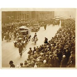 1929: T.P. O'Connor funeral and Baden Powell press photographs