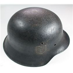 1939-45: German helmet and shell case trench art