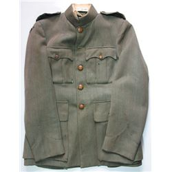 1920s: Irish Army officers' tunic with standing collar