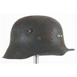 1927 pattern Irish Army Vickers steel helmet