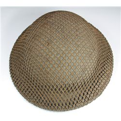 1927 pattern Irish Army steel Vickers helmet shell