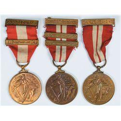 1939-1946: Emergency Service Medals including Na Caomhnoiri Aitiula