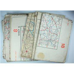 1939-46: Emergency period Irish Army maps of Ireland