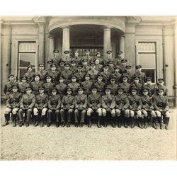1945-46: Irish Army officer group photographs