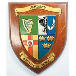 20th Century: Collection of Irish Army plaques