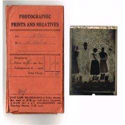 circa 1950: De Valera family negative photographs