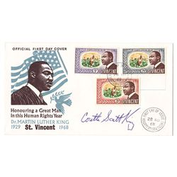 1968: James Earl Ray and Coretta Scott King signatures