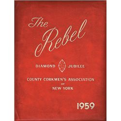 Collection of Cork historical books including County Corkmen's Association of New York Jubilee book
