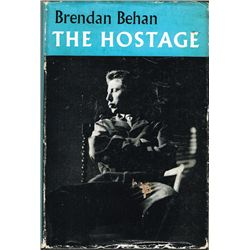 Brendan Behan The Hostage, signed by the author