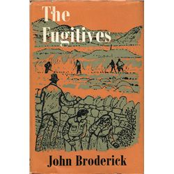 John Broderick, The Fugitives, signed