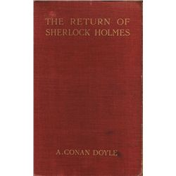 Arthur Conan Doyle, The Return of Sherlock Holmes