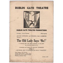 1930s-1950s: Collection of Irish theatre and opera programmes