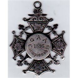 1895 G.A.A. All-Ireland Senior Hurling Championship Final runners-up medal