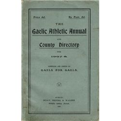 GAA: 1907-08 Gaelic Athletic Annual and County Directory